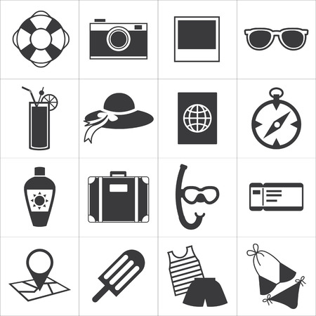 transport icon: travel and summer icon