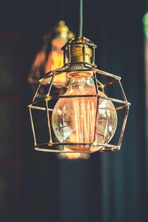 tungsten: vintage tungsten lightbulb