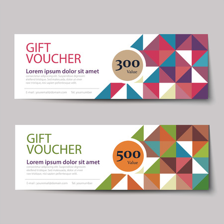 discount: gift voucher discount  template design Illustration