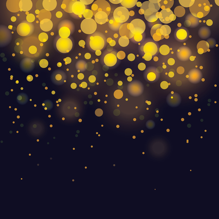 holiday background: vector bokeh Festive background