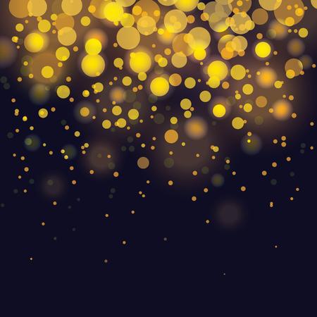Vektorbokeh Festlicher Hintergrund Standard-Bild - 47530008