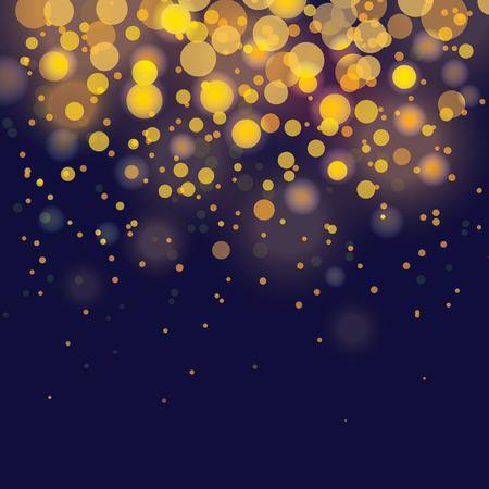 glamor: vector bokeh Festive background