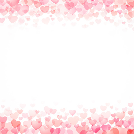 retro wallpaper: red hearts valentine day background