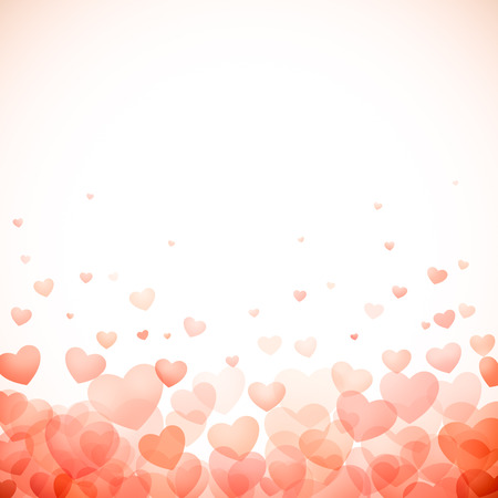 pink wallpaper: red hearts valentine day background