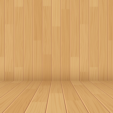 weathered wood: vector wooden texture empty room background
