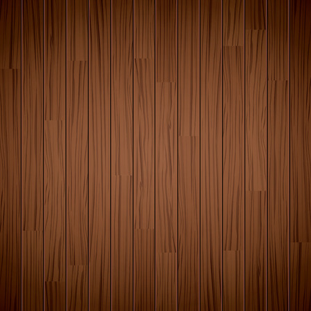 boarded: texture of wooden dark brown background Illustration