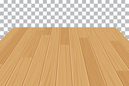table top: wood table top on isolated background