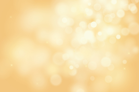 defocus: gold bokeh background for christmas and greeting card Illustration