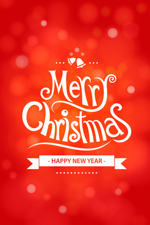 greeting card background: Merry christmas greeting card decoration background