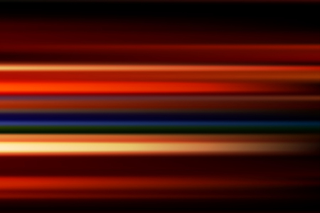 city lights: red vector abstract speed motion blur of night lights in the city long exposure background