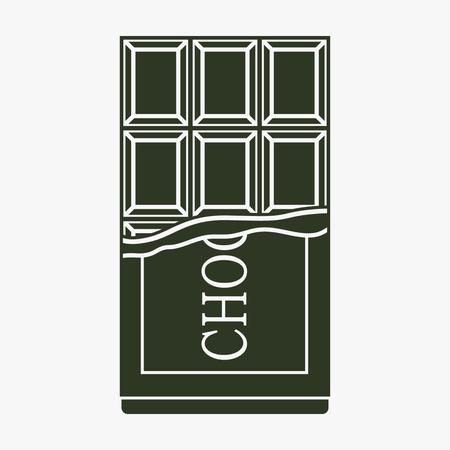 Chocolat vecteur icône Banque d'images - 76466068
