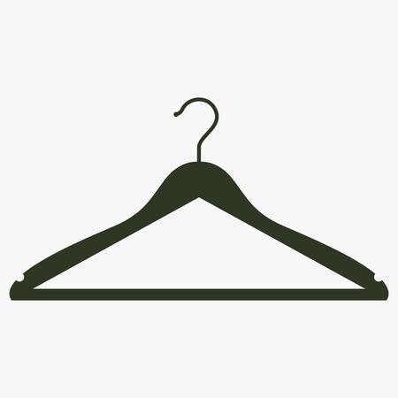 Hanger vector icon.
