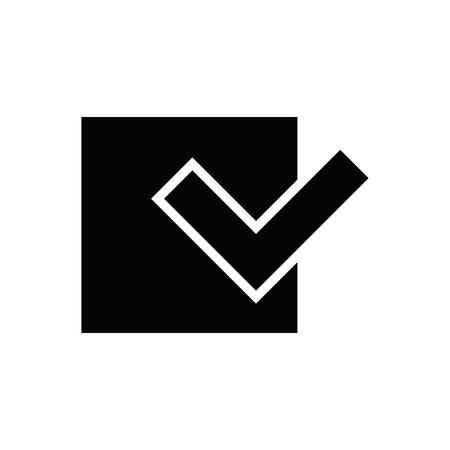 Check mark symbol.