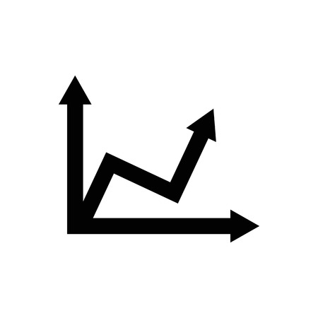 Graph chart sign icon. Banque d'images - 114801850