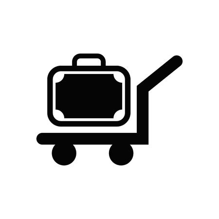 Luggage vector icon.