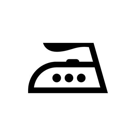 Steam iron icon.