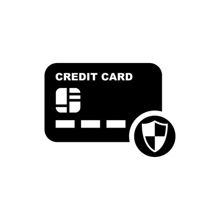 Credit Card vector Icon.