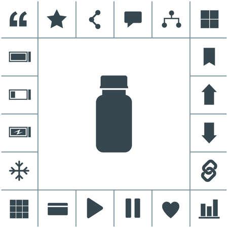 Pills vector icon. Medicine sign. Drugs icon. 矢量图像