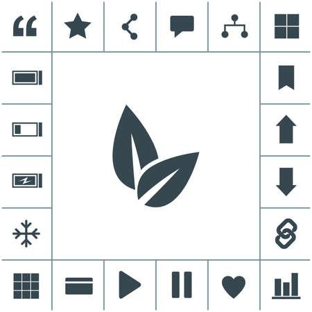 Eco friendly vector icon. Ecological symbol. 矢量图像