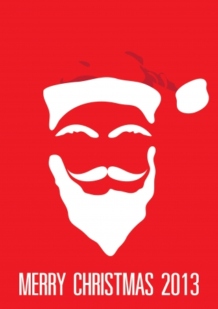 santa claus background: Santa Claus, background Illustration