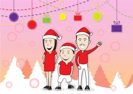 family, christmas, holiday, happy, celebration,