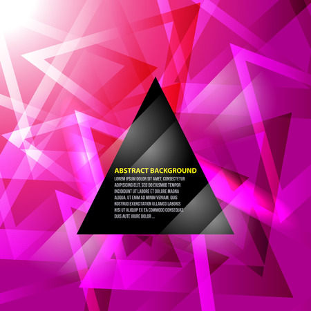 no 1:  Abstract triangle background NO 1 Illustration