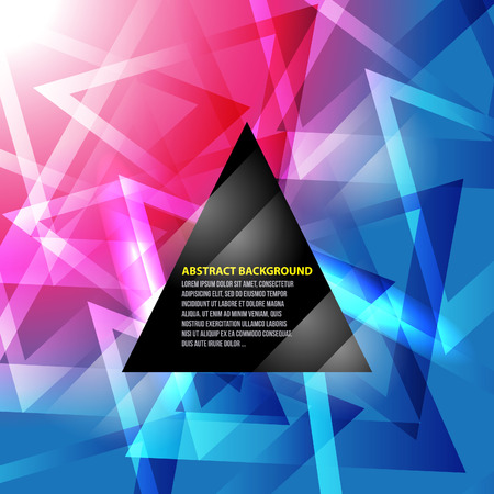 swagger:  Abstract triangle background NO 2 Illustration