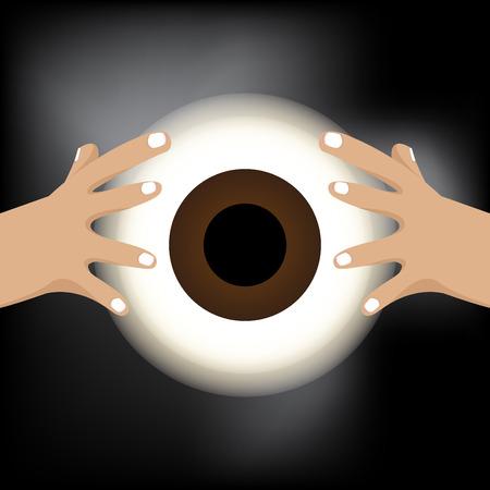 adivino: Caja de fortuna con el ojo