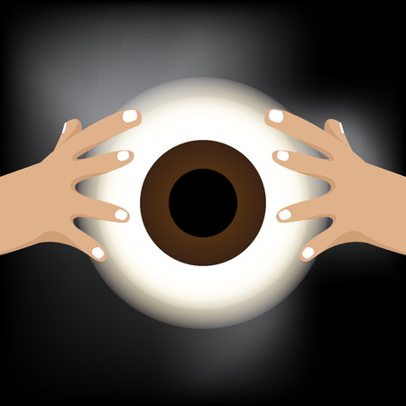 soothsayer: Fortune teller with eye