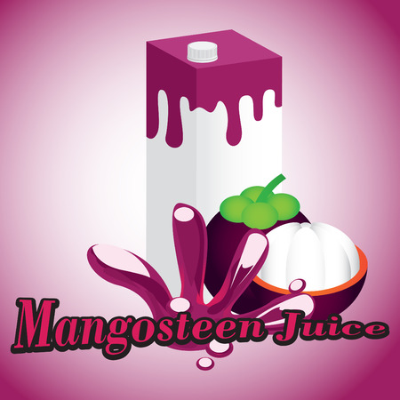 Mangosteen Juice cartons with screw cap