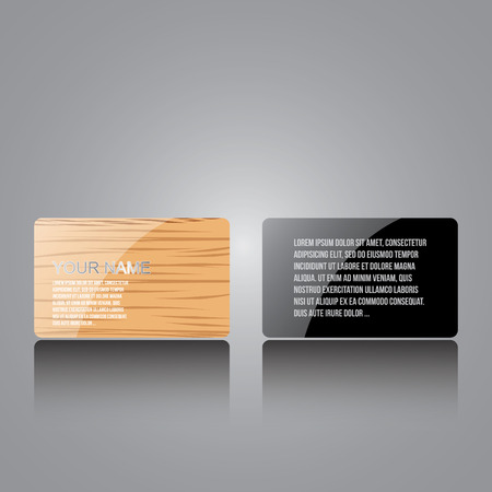 no 1: Personal creative business cards set NO 1