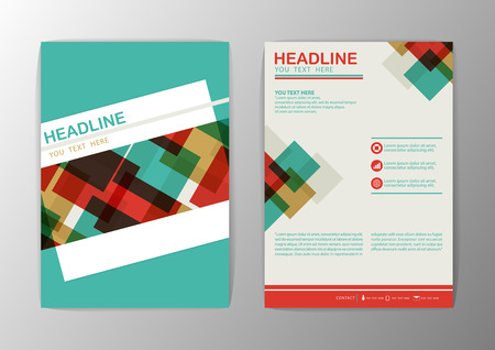 Abstract Brochure Flyer design Layout template-Vector illustration