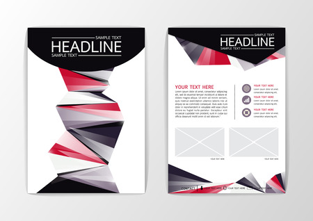 Creative Abstract Background modern geometric design, Brochure Template Flyer Layout, Vector illustration