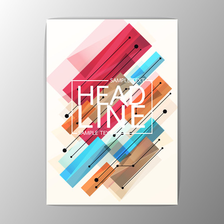 Creative Abstract Brochure Flyer design Layout template-Vector illustration Illustration