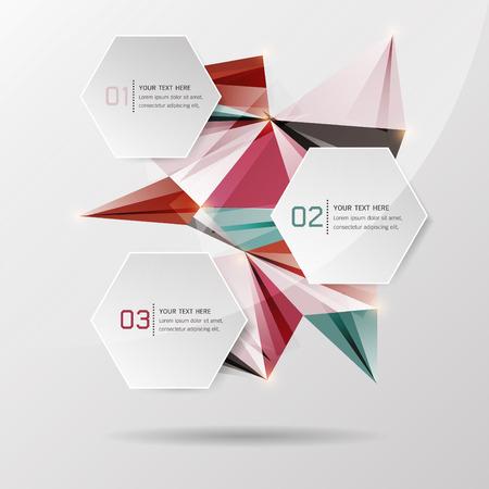 Creative Abstract Background modern design, Infographics, Vector illustration Illustration