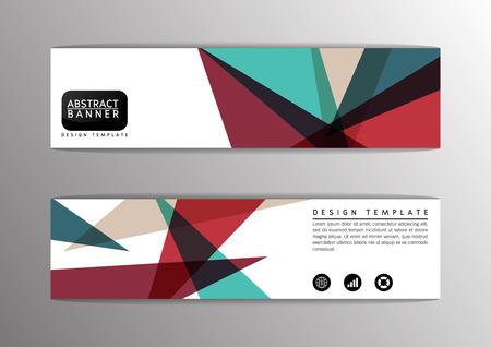 Abstract polygon modern design, banner,site,Vector illustration