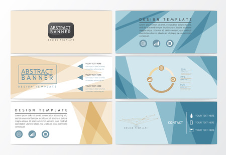Modern Abstract background banner design, business template, Vector illustration