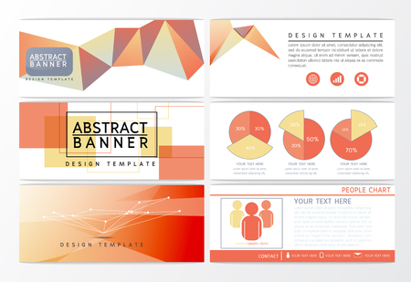 Abstract background banner design Illustration