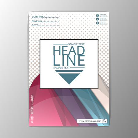 Abstract Cover Background polygon design, Business Company Brochure Template Flyer Layout-Vector illustration