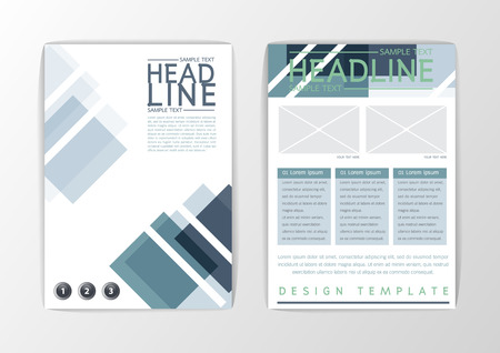 A4 Abstract Cover background design, business brochure set ,flyer layout, report-vector illustration