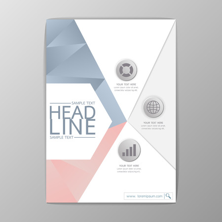 Abstract Cover design, Business Brochure Template,  booklet-illustration