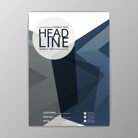 Abstract Cover, Background polygon design, Business Brochure, Template , booklet, illustration Illustration