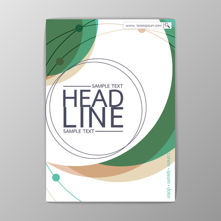 Abstract Cover Background design, Business Template,  Brochure , booklet-illustration