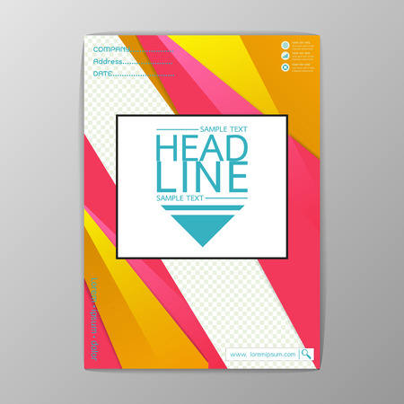 Abstract Cover, Background design, Business Brochure, Template Flyer, booklet, report, Vector illustration
