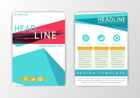 Abstract Cover, Background design, Business Brochure, Template Flyer, booklet, report-Vector illustration