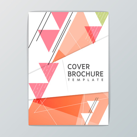 A4 size Abstract Background design, Business Brochure, Template Flyer, booklet, Cover, report, Vector illustration