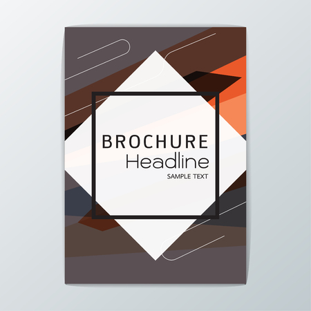 Abstract Cover Background design, Brochure Template, Flyer Layout, Report, booklet-Vector illustration