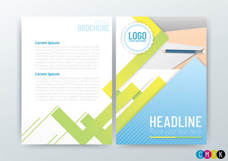 Abstract background, poster flyer brochure cover design layout, company profile, vector template in A4 size