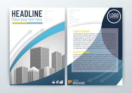 Abstract modern Background Design, Business Brochure, Flyer Layout, Poster, Magazine, Annual Report, CMYK Color, vector illustration