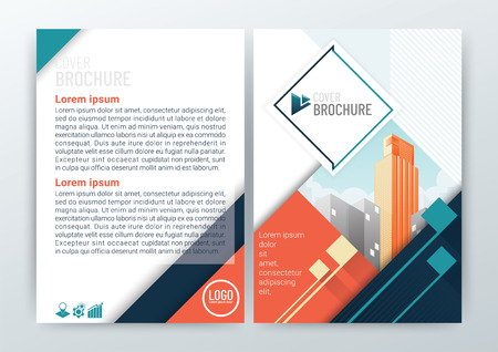 Abstract modern Background Design, Business Brochure, Flyer Layout, Poster, Magazine, Annual Report, CMYK Color-vector illustration